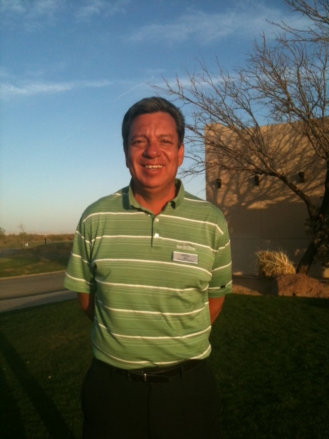 Painted Dunes Golf Instructor Jeff Zuloaga